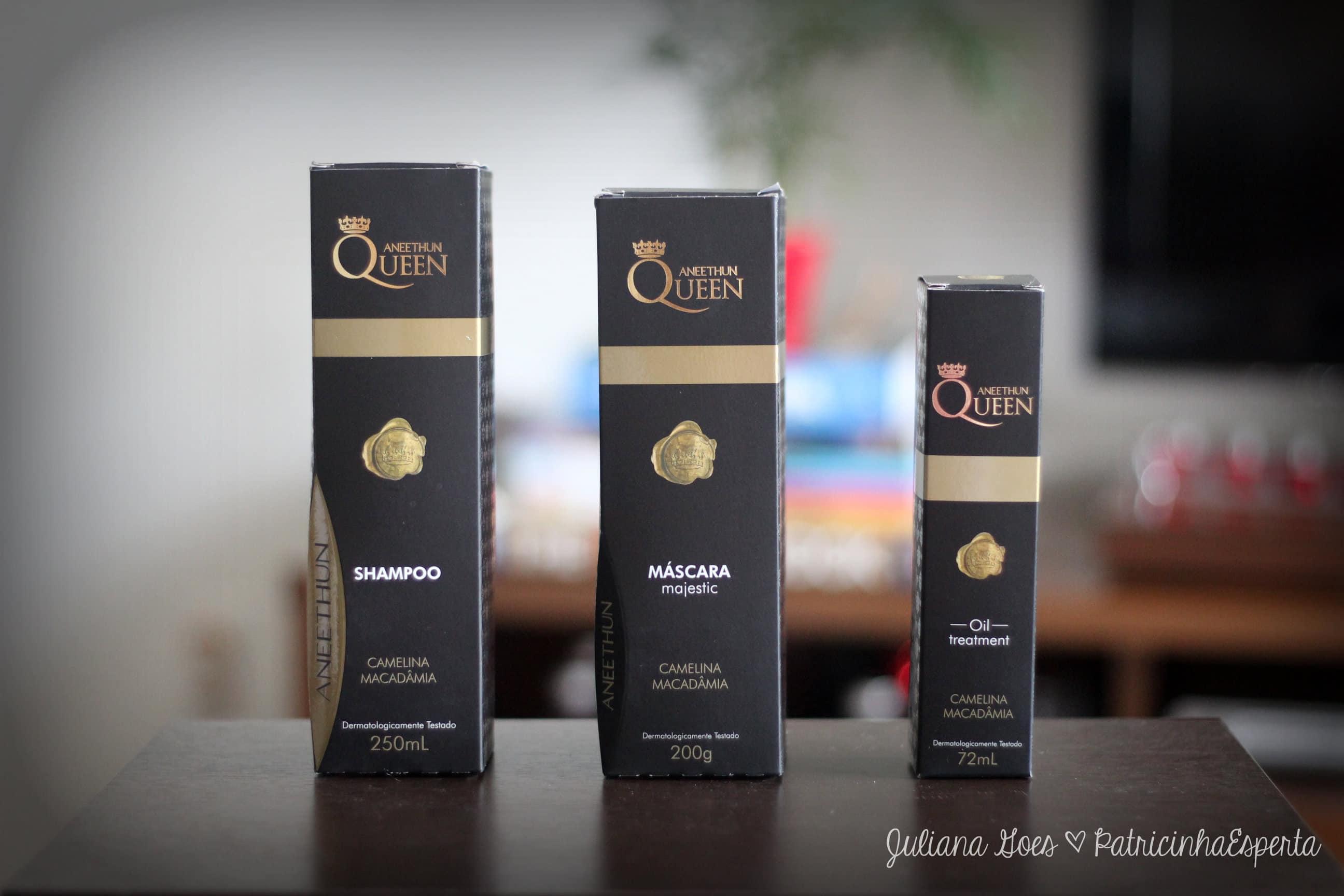 aneethun queen - Quer cabelos de Rainha? Conheça a linha completa Aneethun Queen