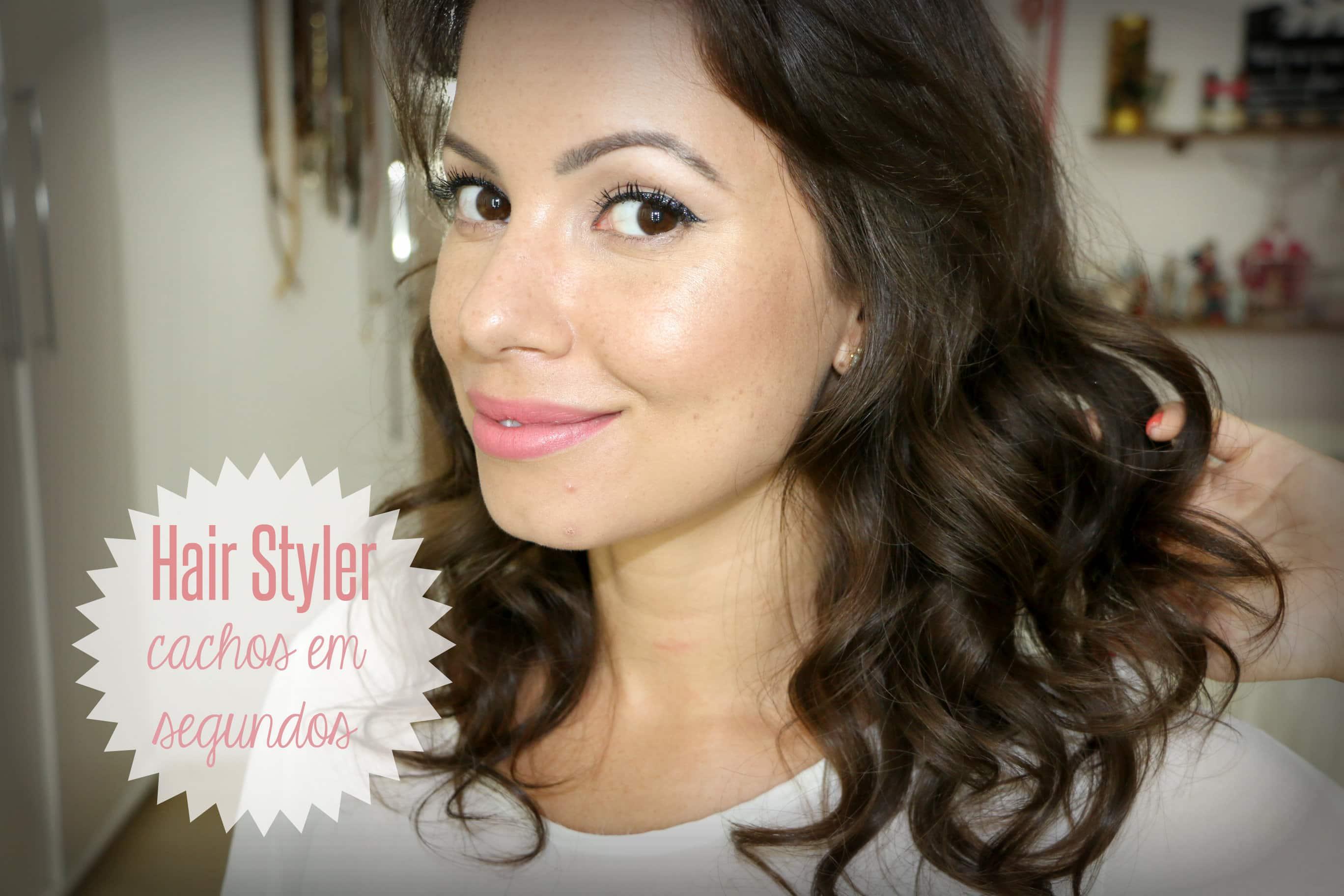 juliana goes hair styler miracurl - Hair Styler Polishop   Cachos Perfeitos, na Hora!