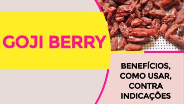 Goji Berry 364x205 - GOJI BERRY 12 Benefícios, Como Usar, Contra Indicações