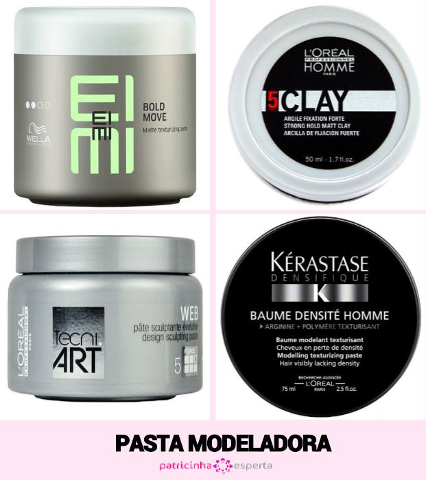 Onde comprar pasta de cabelo - Cera X Pasta X Pomada - Qual a diferença?