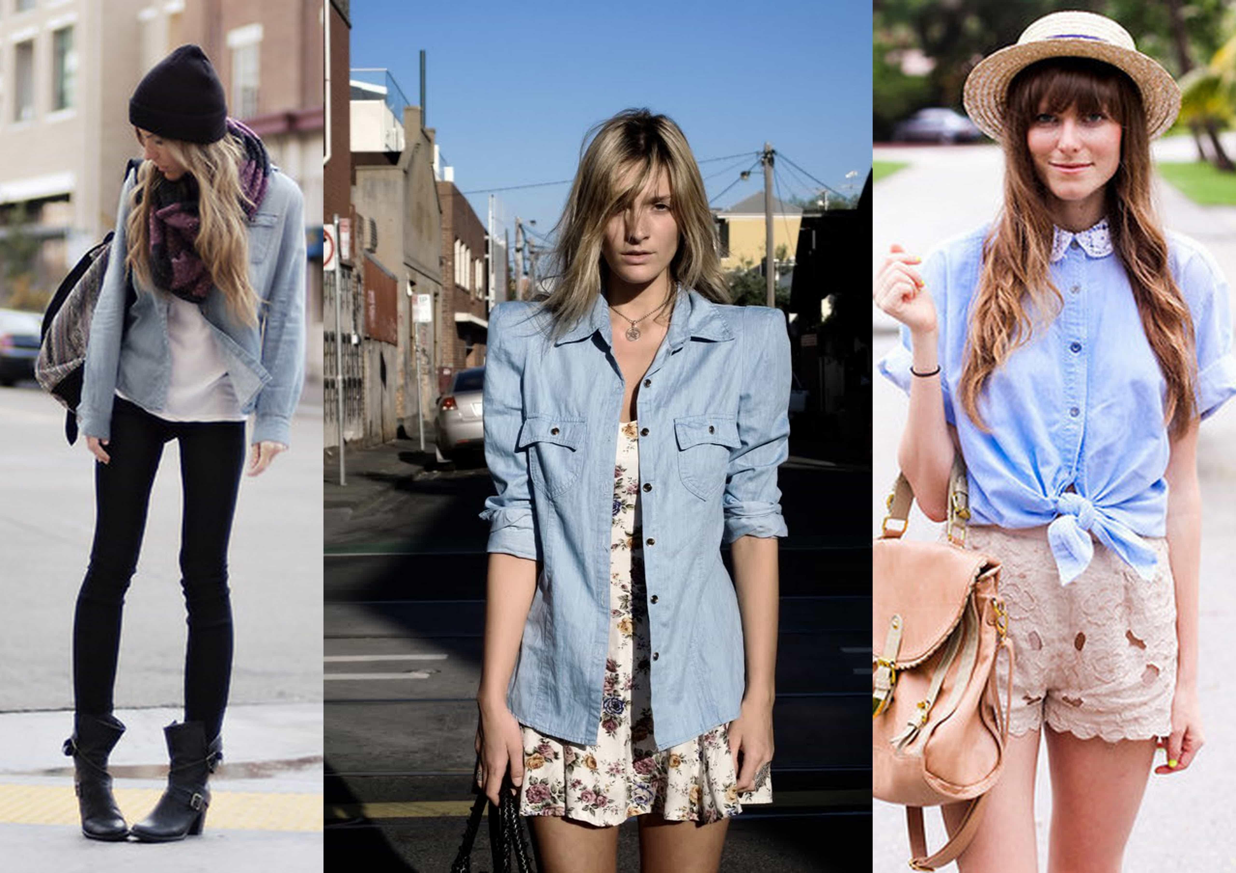 camisa jeans 5 - Camisa Jeans: como usar