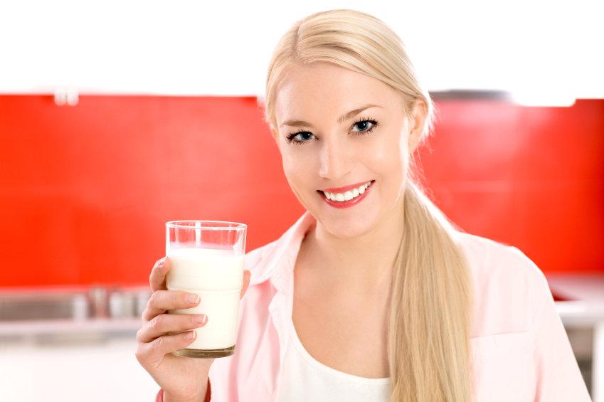 Hidratação com leite
