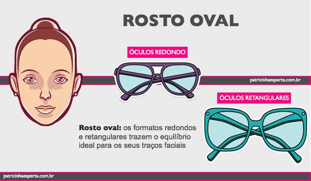 óculos rosto oval