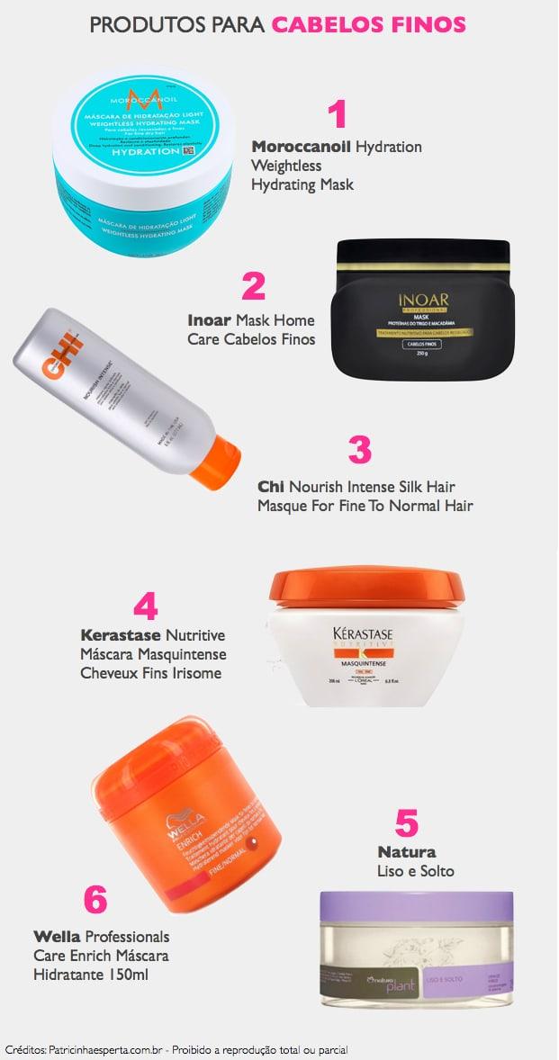 hidratar cabelos finos