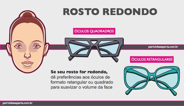 oculos rosto redondo