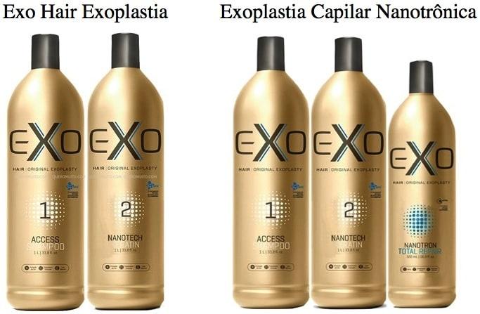 w.001 - Exoplastia Exo Hair: Como usar e Antes e Depois!