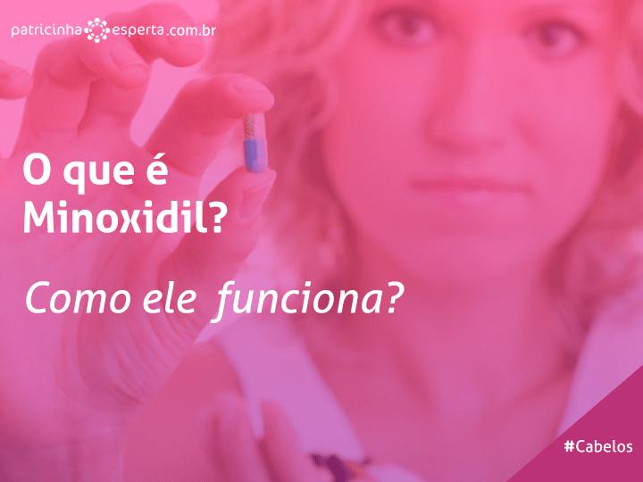 monoxidil - Minoxidil para queda de cabelo