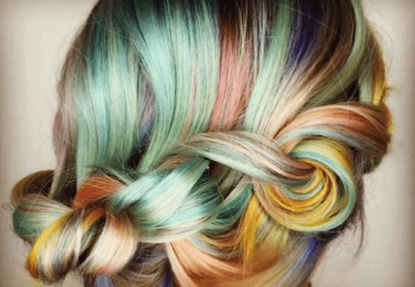 macarons - Cabelo Colorido: 4 formas de usar! Fotos Inspirações