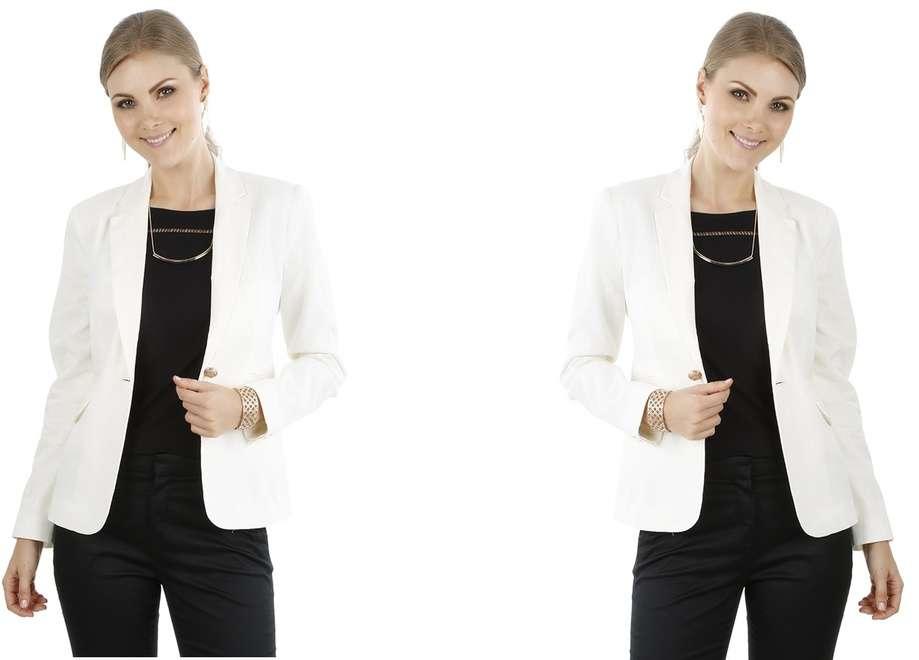 """Blazer branco feminino – Saiba como usar – Créditos imagem """" C ..."""