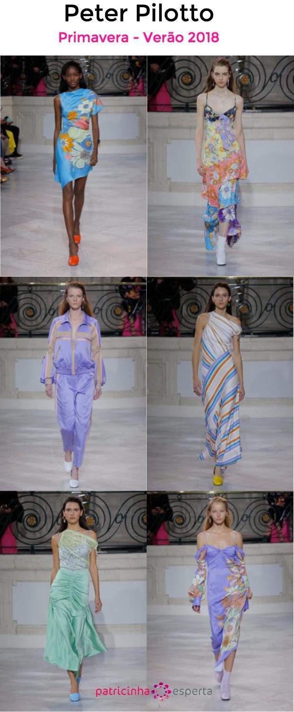 peter pilotto primaveira verao 2018 - Tendências de moda primavera-verão 2018