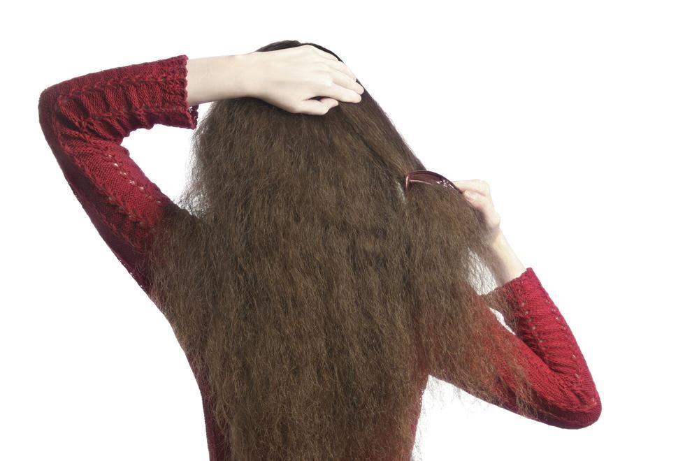 Combing Hair 000018448419 Large - Como hidratar cabelos ressecados pelo frio