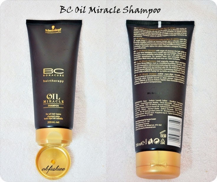 Bonacure Oil Miracle Gold Shimmer
