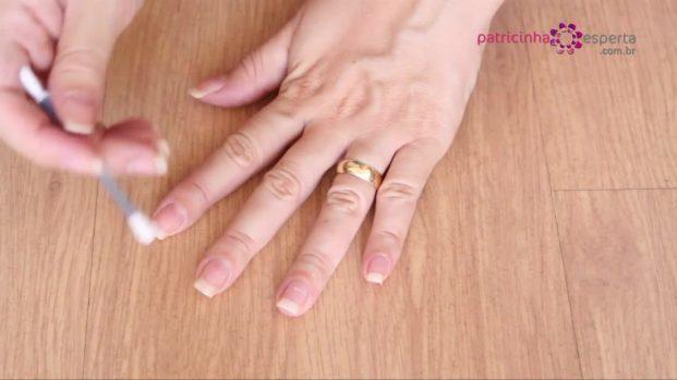 não borrar as unhas