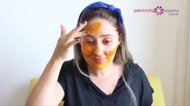 máscara para tratar rugas e flacidez