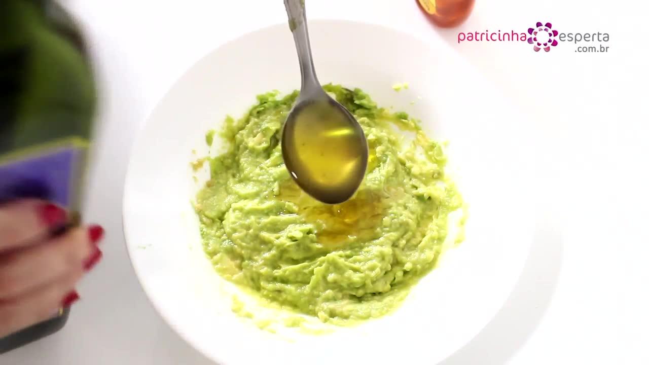 Nutrição capilar de Abacate