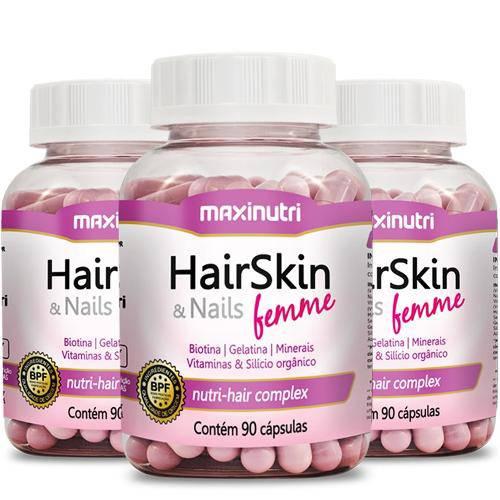 Hair Skin Nails Femme Maxinutri