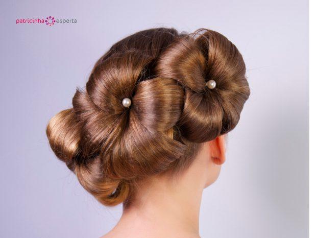 penteado sofisticado madrinha de casamento