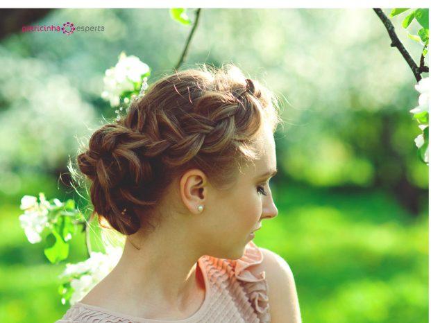 penteados joviais para madrinha de casamento
