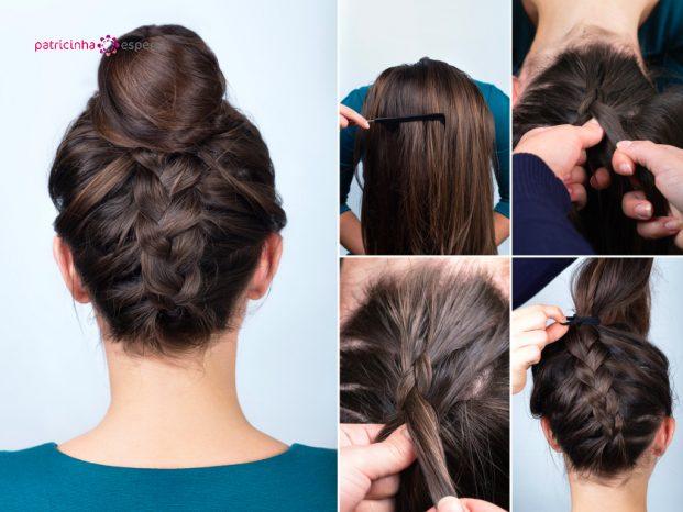 penteados simples para madrinhas de casamento passo a passo