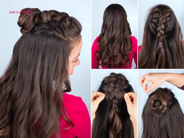 penteados para madrinhas de casamento cabelos longos passo a passo