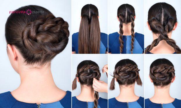 como fazer um penteado para madrinha de casamento