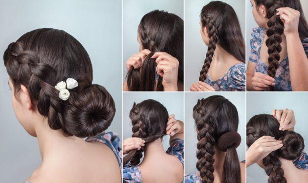 penteado madrinha de casamento cabelo grande