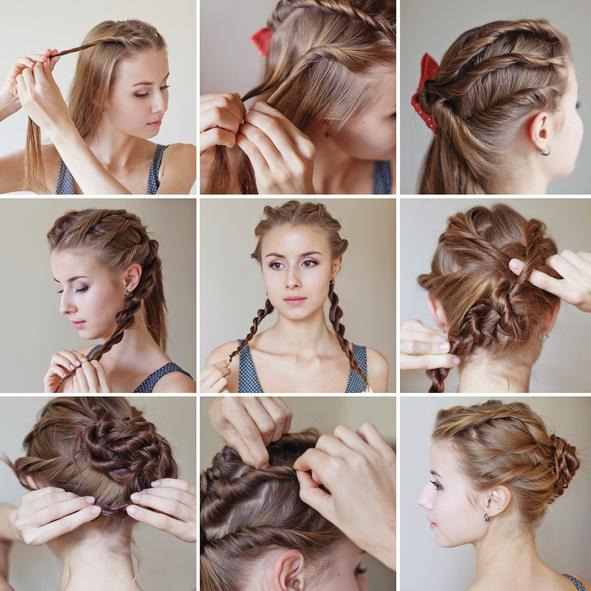 como fazer penteados para madrinhas de casamento a noite