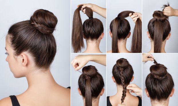 como fazer um penteado facil para madrinha de casamento