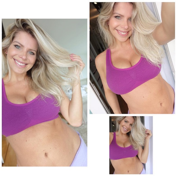 karina bach - Após dar à luz, Karina Bacchi perde 16kg