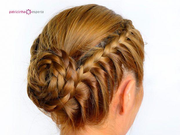 penteados para madrinhas de casamento com tranças