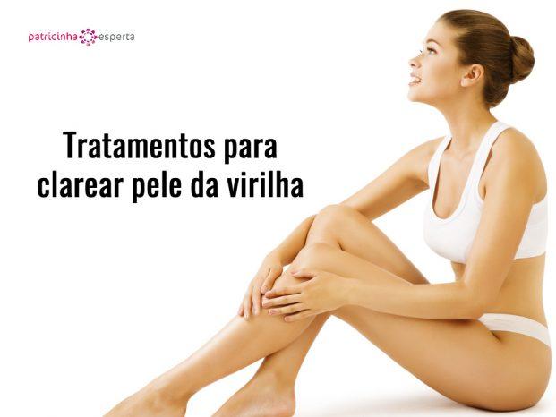 Tratamentos para clarear pele da virilha