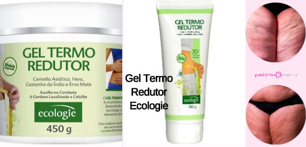 Gel Termo Redutor Ecologie - Melhores cremes para celulite