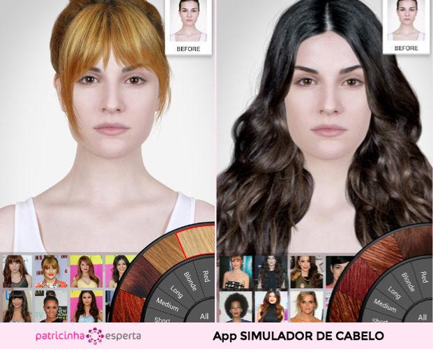 Celebrity Hairstyle Salon 621x500 - Simulador de Cabelo: Corte e Cor