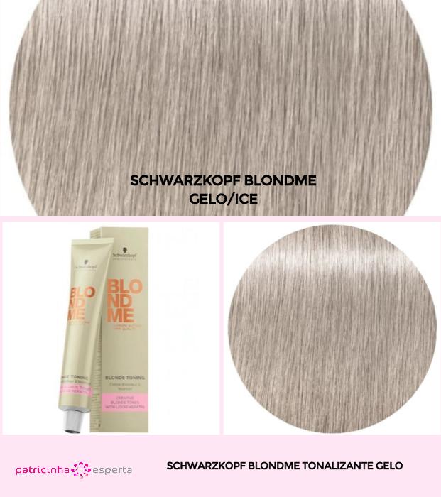 Schwarzkopf BlondMe Tonalizante Gelo - Banho de Brilho Loiro Acinzentado: Passo a Passo, Cores, Tintas [Novo]