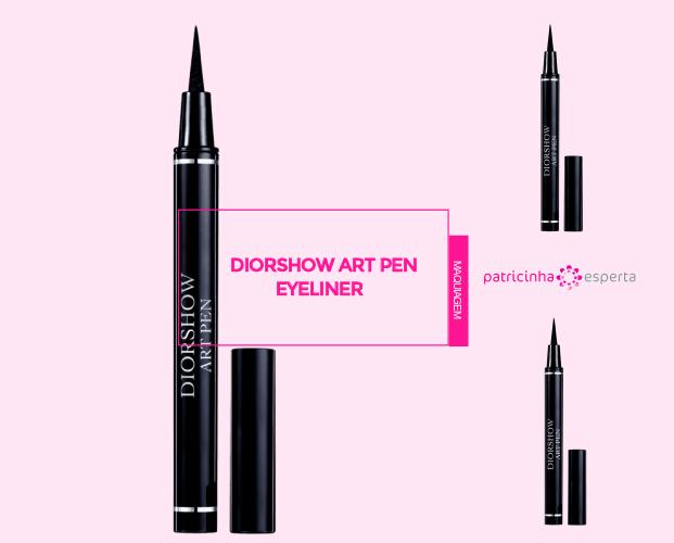 Diorshow Art Pen Eyeliner - Caneta Delineadora: Qual A Melhor? - Marcas, Resenhas, Preços