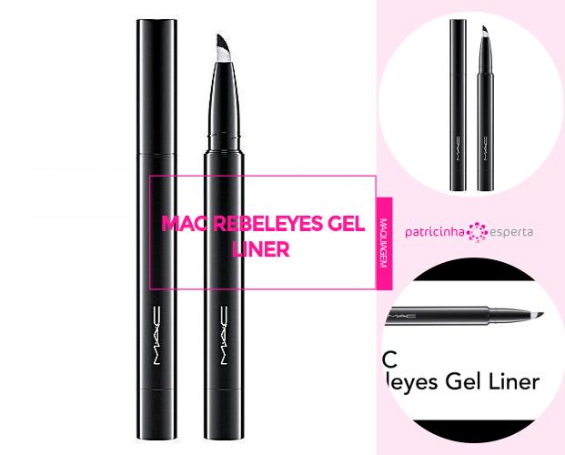 MAC Rebeleyes Gel Liner - Caneta Delineadora: Qual A Melhor? - Marcas, Resenhas, Preços