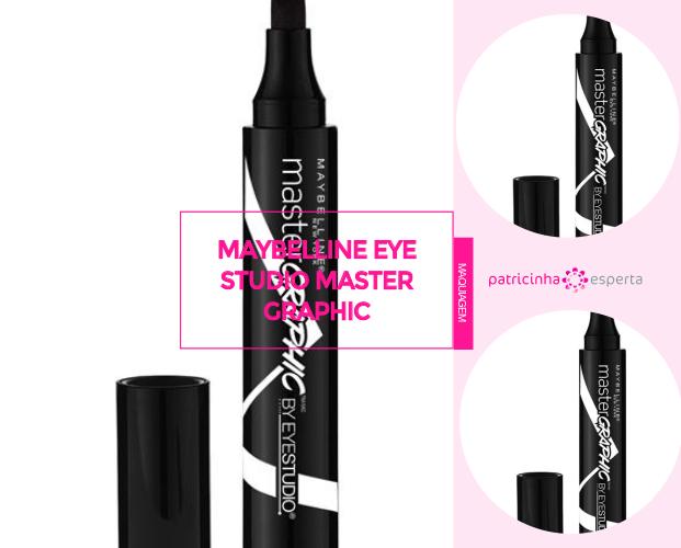 Maybelline Eye Studio Master Graphic - Caneta Delineadora: Qual A Melhor? - Marcas, Resenhas, Preços