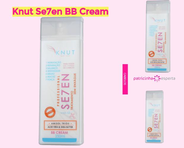 Knut Se7en BB Cream - BB Cream Para Cabelo ✅ Qual O Melhor? Como Usar, Como Age.
