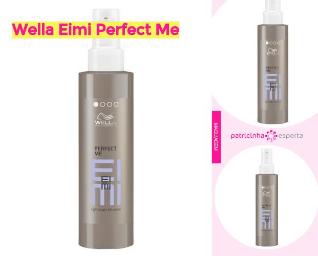 Wella Eimi Perfect Me 1 - BB Cream Para Cabelo ✅ Qual O Melhor? Como Usar, Como Age.