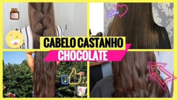 cabelo castanho chocolate 1 364x205 - Cabelo Castanho Chocolate: 50 fotos inspirações, dicas de cuidados