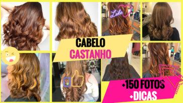 cabelo castanho 364x205 - Cabelo Castanho 2020: 150 Cortes e Cores Para Se Inspirar + Dicas