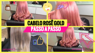 cabelo rosa dourado1 364x205 - Cabelo Rosa Dourado: Como Ter com Coloração Passo A Passo