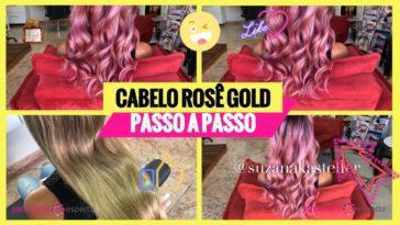 cabelo rose passo a passo 364x205 - Como Pintar o Cabelo de Rosa Em Casa Passo A Passo