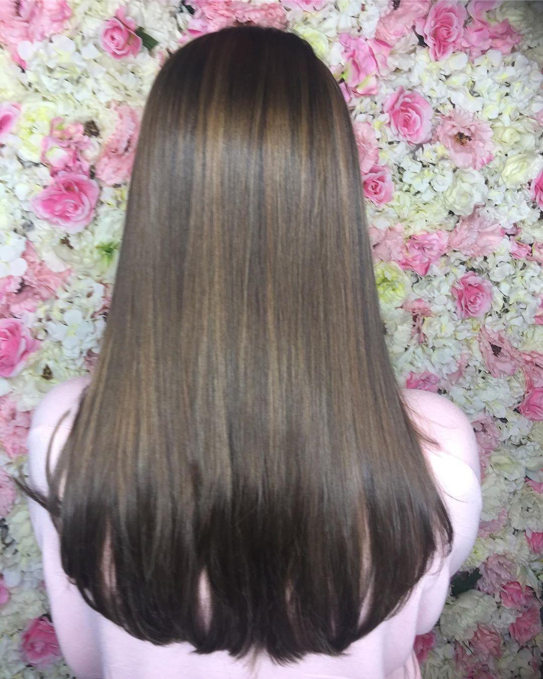 hair byumee 61549278 196465044653940 6380247388011021565 n - Cabelo Castanho Chocolate: 50 fotos inspirações, dicas de cuidados