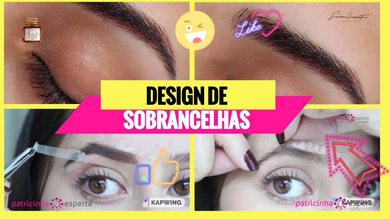 Sobrancelhas1 - Design de Sobrancelhas: Como fazer? Formato Do Rosto, Vídeos