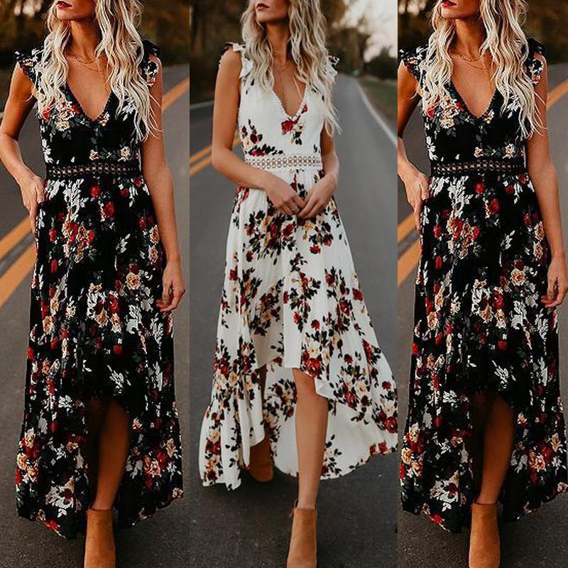 HTB1J6jIMMHqK1RjSZFgq6y7JXXaa - Vestidos Estampados 2021: 90 Looks Inspirações, Trends