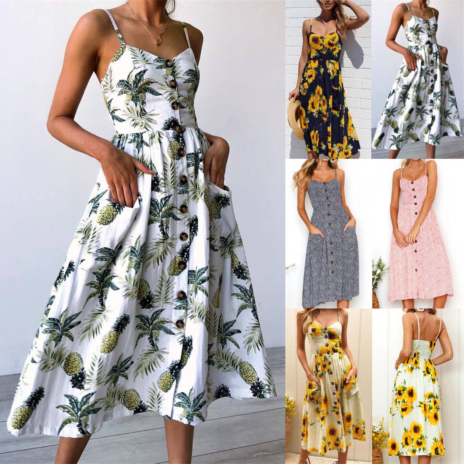 He34ab569cc604f42b852f39aed127347w - Vestidos Estampados 2021: 90 Looks Inspirações, Trends