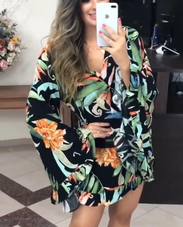 79705293 1028349760851811 5961507653019500544 n - Vestidos Estampados 2021: 90 Looks Inspirações, Trends