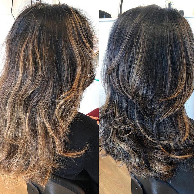 Photo by Hair with Jess on - Cortes de Cabelo 2021 – Principais Tendências