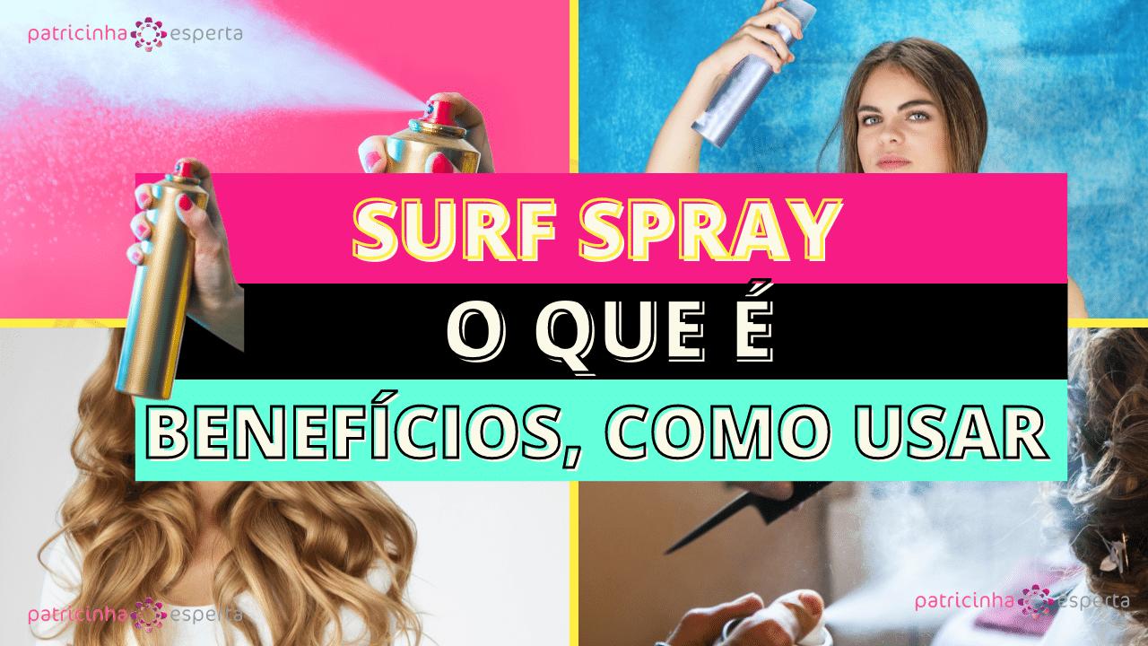 Como Escolher o Shampoo Certo 4 - Spray De Sal: O que é, Benefícios, Como Usar